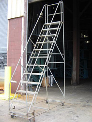 Rolling Ladder from The Surplus Warehouse