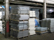 Used Wire Mesh Decking from The Surplus Warehouse